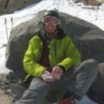 Resting at the top of La Sarenne piste